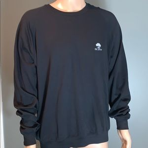 Fairway&Greene Mens Soft Black Golf Sweatshirt XL